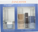 Lancaster Skin Therapy Geschenkset 50ml Antiage Oxygenate Cream + 10ml 365 Skin Repair Serum + 3ml Eye Care + 100ml Express Cleanser