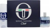 Sergio Tacchini Club Gift Set 1.7oz (50ml) EDT + 5.1oz (150ml) Deodorant Spray