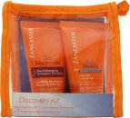 Lancaster Discovery Geschenkset 50 ml Silky Milk Sublime Tan LSF15 + 50 ml After Sun Tan Maximizer