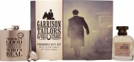 Garrison Tailors Peaky Blinders Shelby Brothers Gift Set 100ml EDC + Hip Flask & Funnel