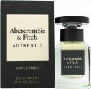 Abercrombie & Fitch Authentic Man Eau de Toilette 1.0oz (30ml) Spray