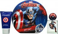 Marvel Captain America Gift Set 1.7oz (50ml) EDT + 2.5oz (75ml) Shower Gel