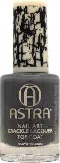 Astra Nail Art Crackle Lacquer Top Coat 9ml - 02 Fog