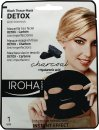 Iroha Nature Detox Anti Blemish Black Tissue Mask 1 x Tissue Mask