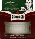 Proraso Red Pre-Shaving Cream with Sandalwood & Shea Butter 100ml