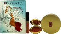 Elizabeth Arden Bronze in the City Gift Set 1 x 7.7g Bronzer + 1 x 2.67g Blush + 1 x 4ml Lipgloss + 1 x Borste
