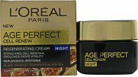 L'Oreal Age Perfect Cell Renew Night Cream 1.7oz (50ml)