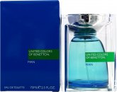 Benetton United Colors of Benetton for Men Eau de Toilette 75ml Spray