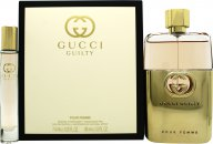 Gucci Guilty for Her Gift Set 90ml EDP + 7.4ml Rollerball