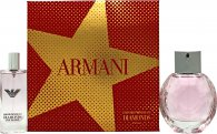 Giorgio Armani Diamonds Rose Gift Set 50ml EDT + 15ml EDT