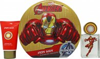 Marvel Iron Man Gift Set 50ml EDT + 75ml Shower Gel