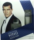 Antonio Banderas King Of Seduction Gift Set 1.7oz (50ml) EDT + 1.7oz (50ml) Aftershave Balm