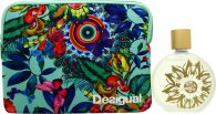 Desigual Fresh Gift Set 100ml EDT + Vanity Case