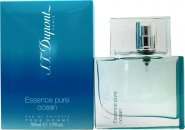 S.T Dupont Essence Pure Ocean Pour Homme Eau de Toilette 1.7oz (50ml) Spray