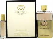 Gucci Guilty for Her Gift Set 90ml EDP + 15ml EDP