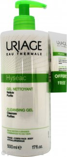 Uriage Hyséac Cleansing Gel 500ml - Combination to Oily Skin