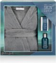 Style & Grace Skin Expert For Him Robe Gift Set 3.4oz (100ml) Shampoo + 110g Soap + Bath Robe