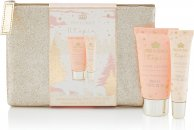 Style & Grace Utopia Glitter Bag Set Gavesett 50ml Hand Lotion + 10ml Lip Gloss + Paljettbag