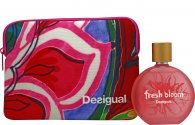 Desigual Fresh Bloom Gift Set 100ml EDT + Bag