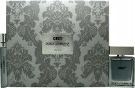 Dolce & Gabbana The One Grey Gift Set 50ml EDT + 10ml EDT