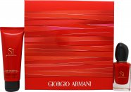 Giorgio Armani Si Passione Gift Set 1.0oz (30ml) EDP + 2.5oz (75ml) Body Lotion