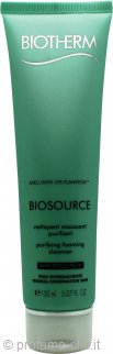 Biotherm Biosource Hydra-Mineral Cleanser Mousse Tonificante 150ml - Pelli Normali/Miste