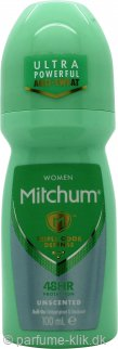Mitchum Women Triple Odor Defense Unscented Deodorant Roll-On 100ml