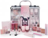 Q-KI Celestial Storm Vanity Case Make Up Gift Set - 22 Pieces