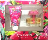 Accessorize Lovelily Gift Set 2.5oz (75ml) EDT + 3.4oz (100ml) Body Lotion