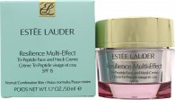 Estee Lauder Resilience Multi-Effect Tri-Peptide Face & Neck Cream SPF15 50ml - For Normal/Combination Skin