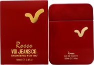 Voi Jeans Rosso Eau de Toilette 100ml Spray