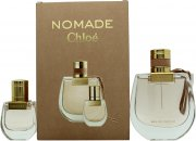 Chloé Nomade Gift Set 2.5oz (75ml) EDP + 0.7oz (20ml) EDP
