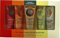 The Body Shop G3 Gtr Core Hand Cream Gift Set 5 Pieces