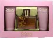 Coleen Rooney Butterflies Gavesett 100ml EDT + 100ml Body Lotion + 100ml Dusjsåpe