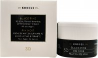 Korres Black Pine 3D Sculpting Firming & Lifting Nattkrem 40ml