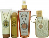 Armaf Tag-Her Gift Set 100ml EDP + 100ml Body Lotion + 240ml Body Spray + 50ml Deodorant