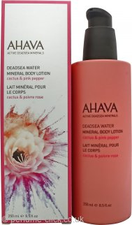 Ahava Deadsea Water Mineral Cactus & Pink Pepper Body Lotion 250ml