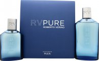Robert Verino RV Pure Man Icy Gift Set 150ml Eau de Toilette + 75ml Eau de Toilette