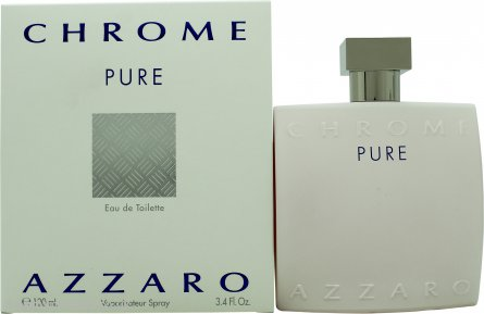 Azzaro Chrome Pure Eau de Toilette 100ml Spray