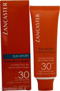 Lancaster Sun Sport Invisible Face Gel SPF30 50ml - Matte Finish