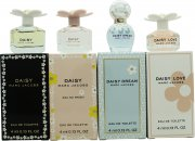 Marc Jacobs Daisy Mini Geschenkset 4 x 4ml EDT (Daisy + Daisy Eau So Fresh + Daisy Dream + Daisy Love)