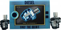 Diesel Only The Brave Gift Set 75ml EDT + 35ml EDT