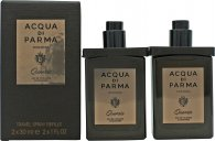 Acqua di Parma Colonia Quercia Gift Set 2 x 30ml EDC Travel Spray Refills