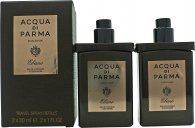 Acqua di Parma Colonia Ebano Duo 2 x 30ml EDC Concentrée Travel Spray Refills