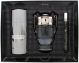 Paco Rabanne Invictus Gift Set 100ml EDT + 150ml Deodorant Spray + 10ml EDT