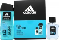 Adidas Ice Dive Gift Set 50ml EDT + 250ml Shower Gel