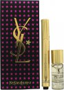 Yves Saint Laurent Touche Éclat Radiant Touch Gift Set 2.5ml Touche Éclat - 01 + 10ml Blur Primer
