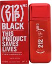 Carolina Herrera 212 VIP Black Red Eau de Parfum 100ml Spray - Limited Edition