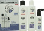 Nioxin 3 Part System No.5 Gift Set 3 Pieces - Chemically Treated Hair with Light Thinning