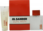 Jil Sander Sun Men Gift Set 2.5oz (75ml) EDT + 2.5oz (75ml) Shower Gel